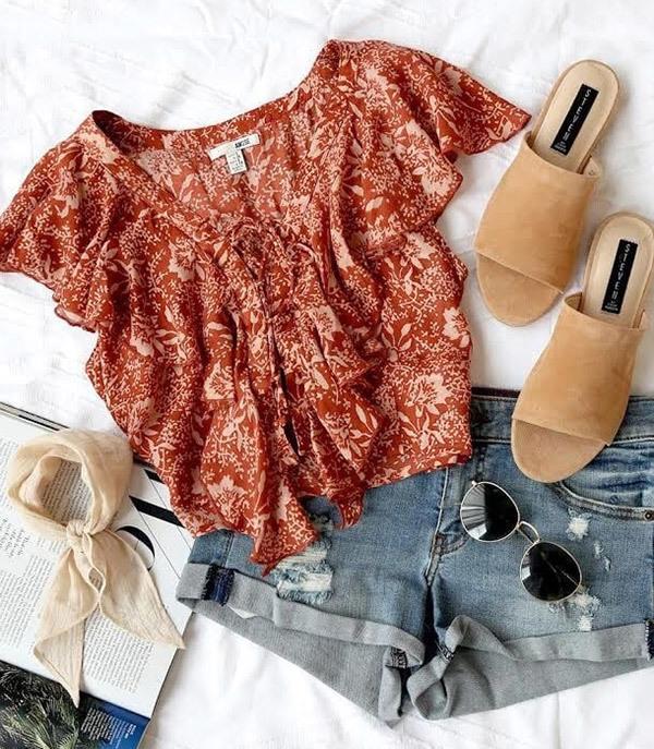 Summer Denim Outfits
