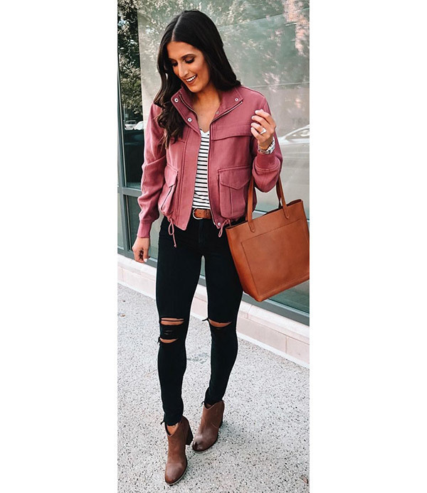 Skinny Black Jeans Outfits