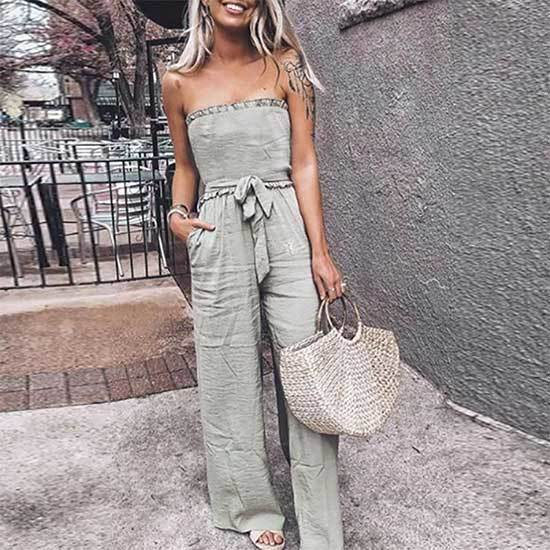 Off Shoulder Jumpsuit Outfits