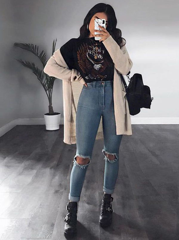Street Style Grunge Outfits