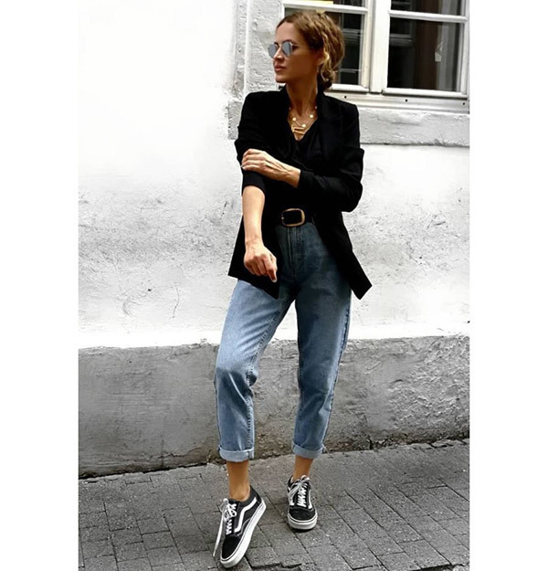 High Waisted Street Style Outfits