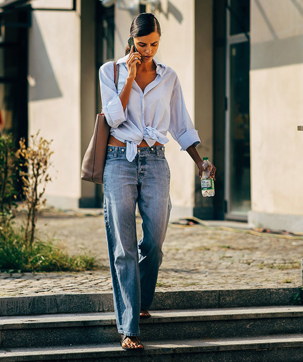 Denim Street Style Outfits