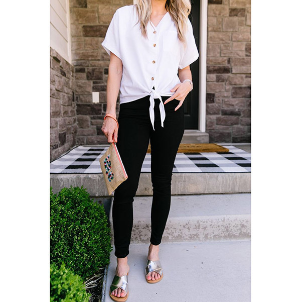 Stylish Black Jeans Outfits