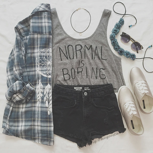 Summer Outfits for School
