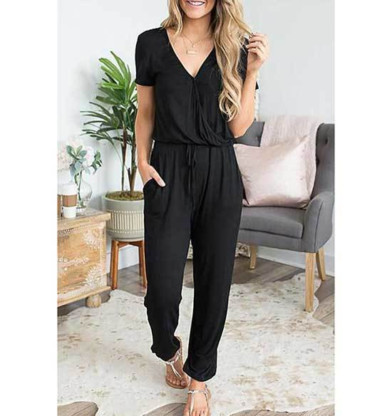 Black Jumpsuit Outfits