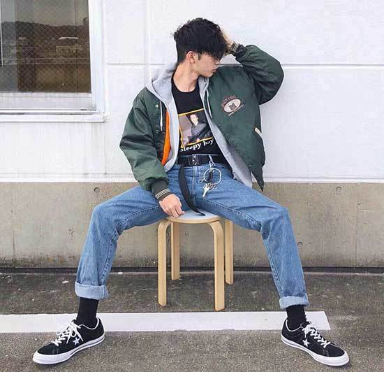 90s Swag Outfits for Guys