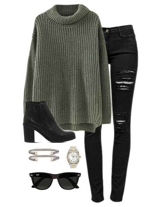 Black Jeans Styles