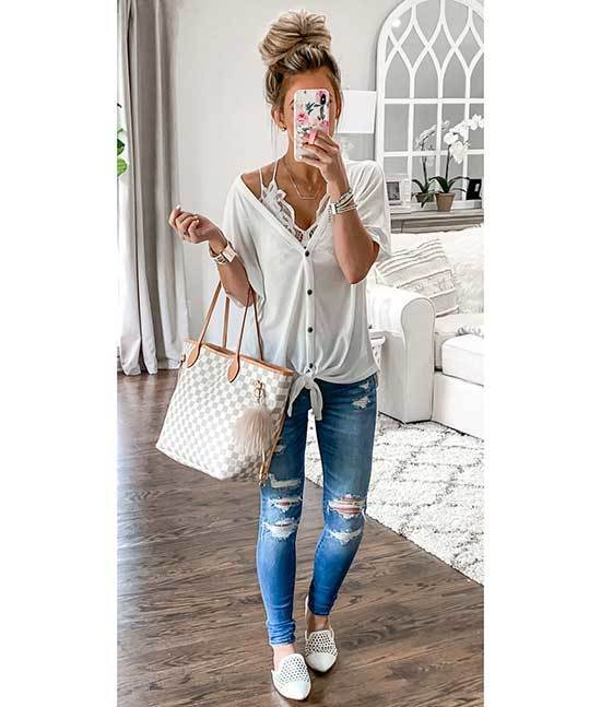 Jean Spring Outfits
