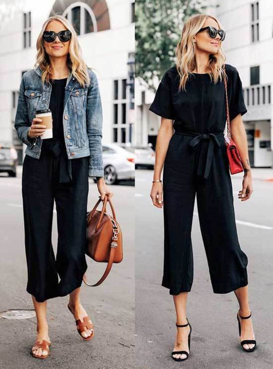 Business Casual Black Outfits