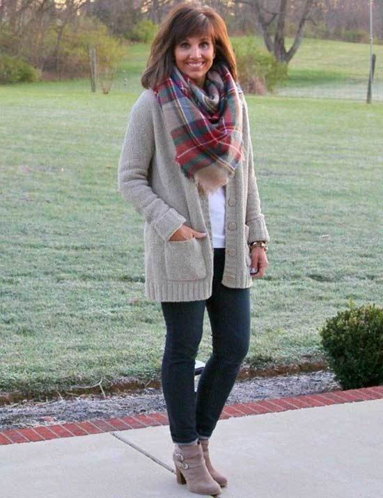 Cozy Outfits for Over 50