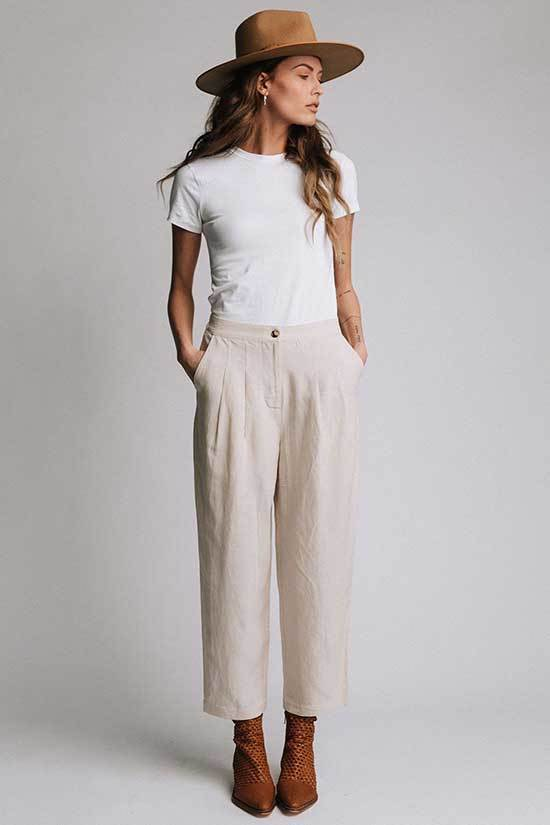 Cute High Waisted Wide Leg Trousers Outfits