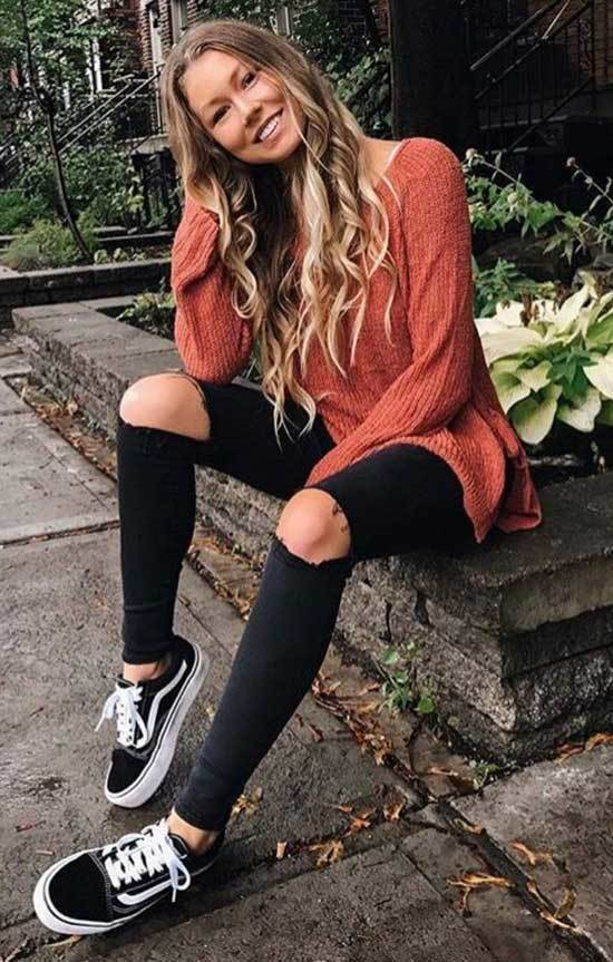 Trending Black Jeans Outfits
