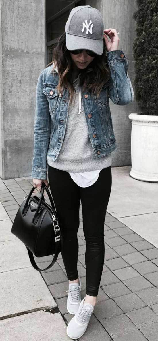 Black Jeans Outfits for Women