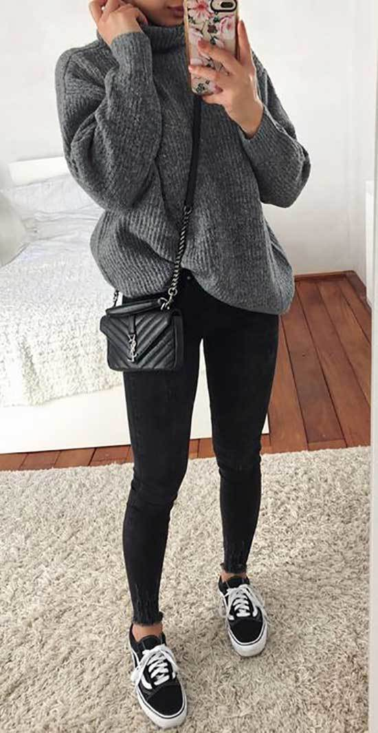 Black Jeans Outfits for Girls