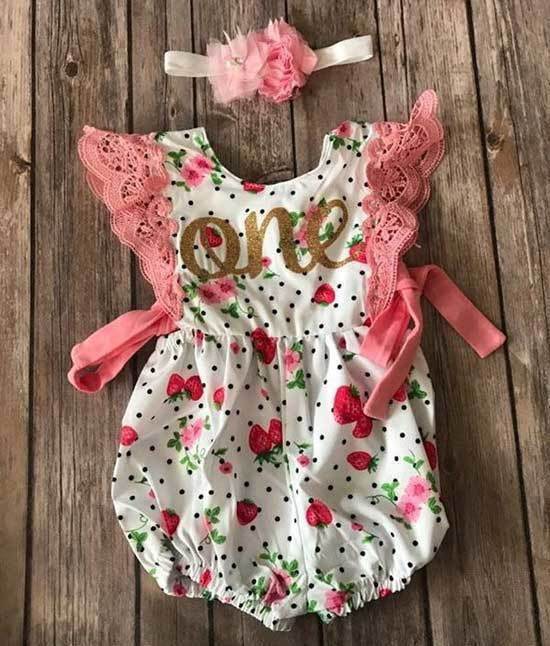 First Birthday Outfits Girl