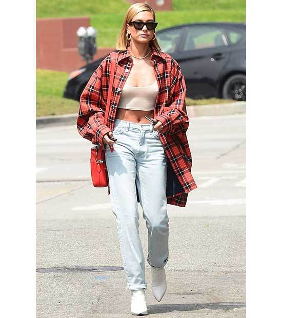 Stylish Hailey Baldwin Outfits