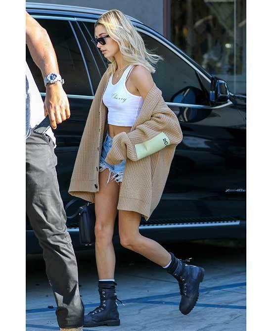 Hailey Bieber Fashion