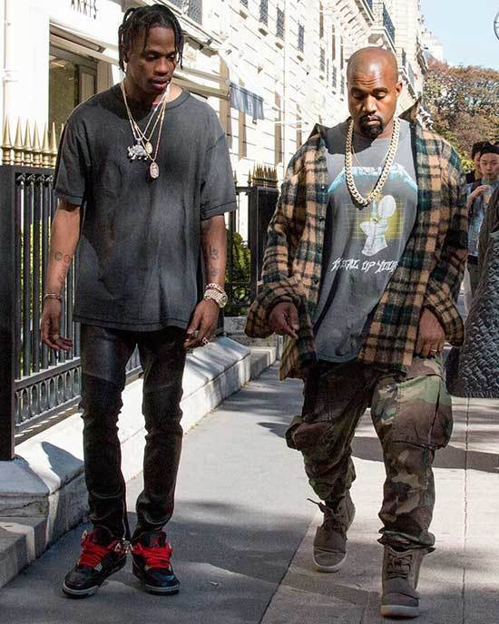 Kanye West Spring Outfits