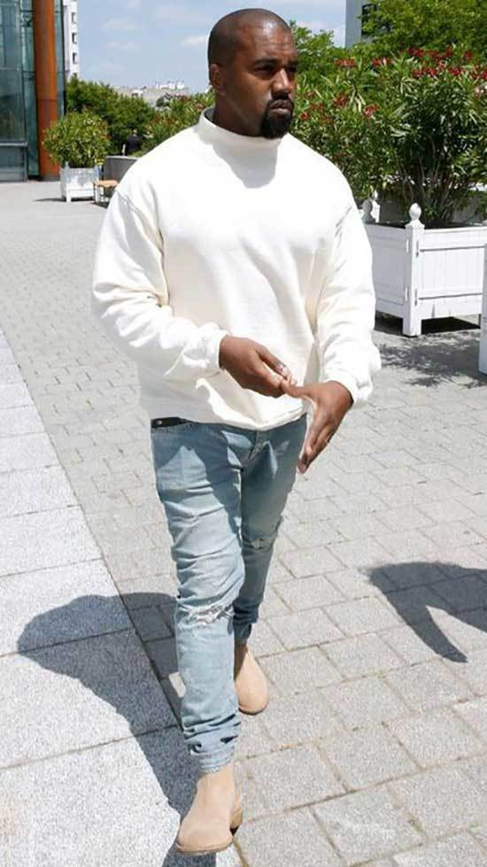 Kanye West Summer Outfits