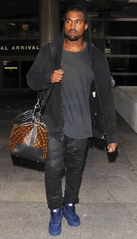 Kanye West Dark Outfits