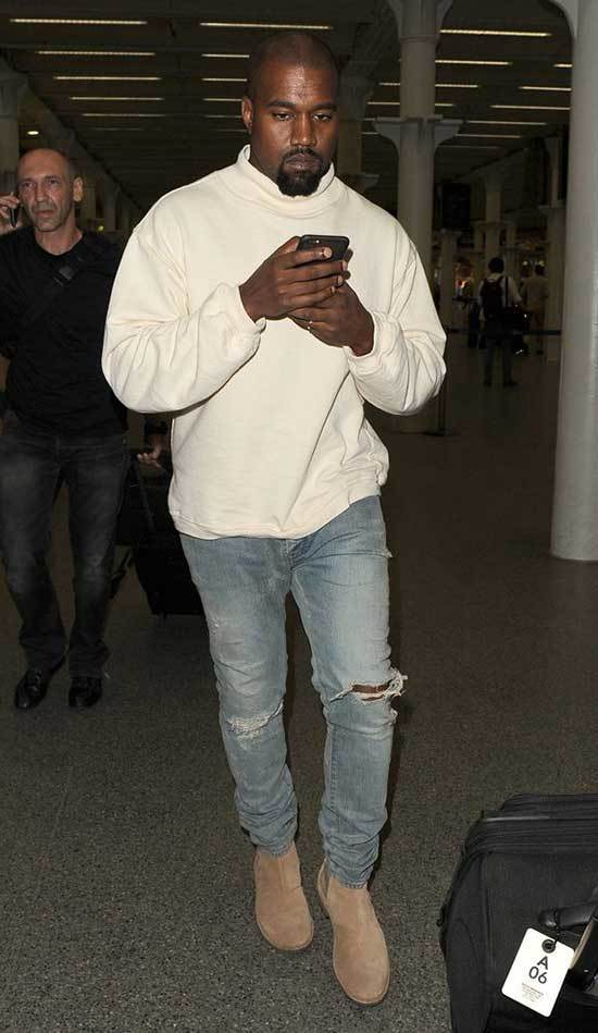 Kanye West Boots Outfits