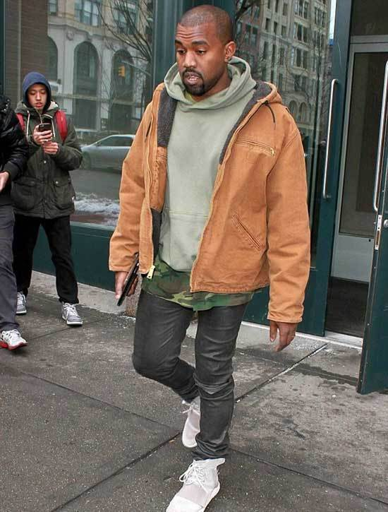 Kanye West Outfits for Men