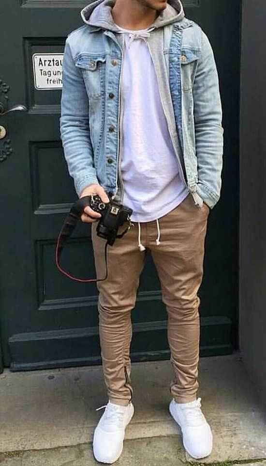 Mens Streetwear Hipster Outfits