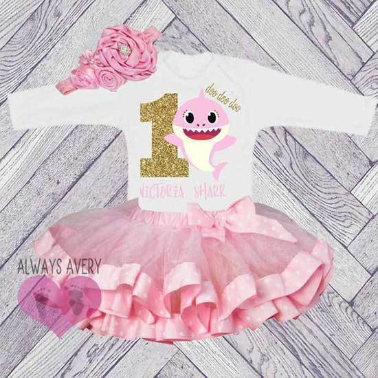 Pink First Birthday Outfits