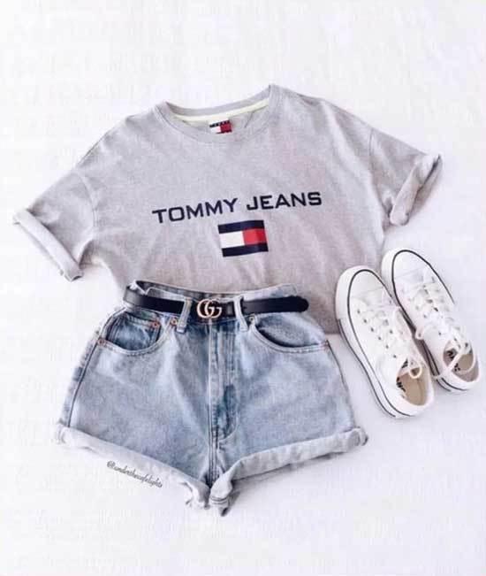 Summer T-Shirt Outfits