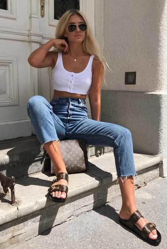 High Waisted Summer Outfits