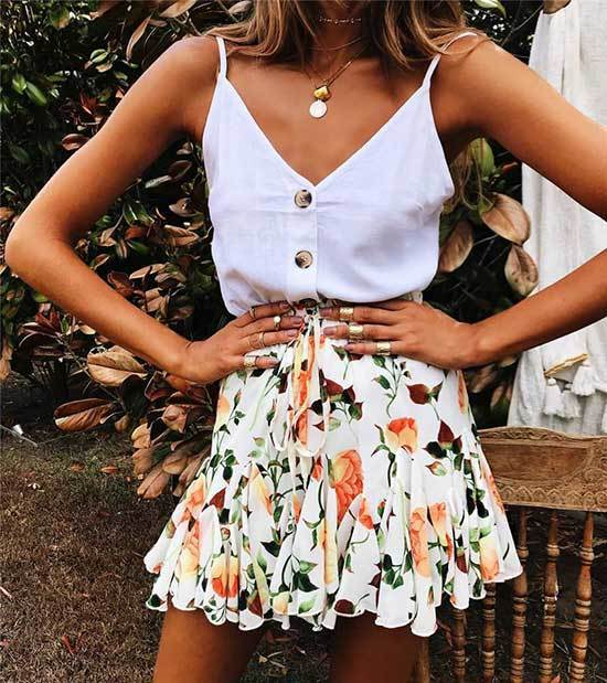Floral Summer Outfits