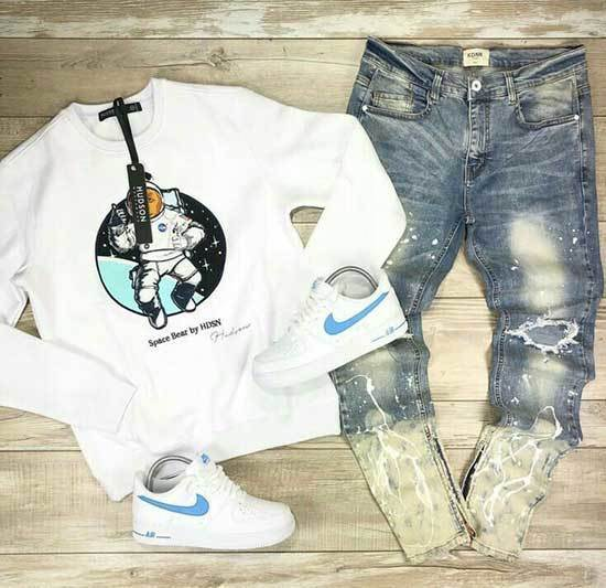 Denim Swag Outfits for Guys