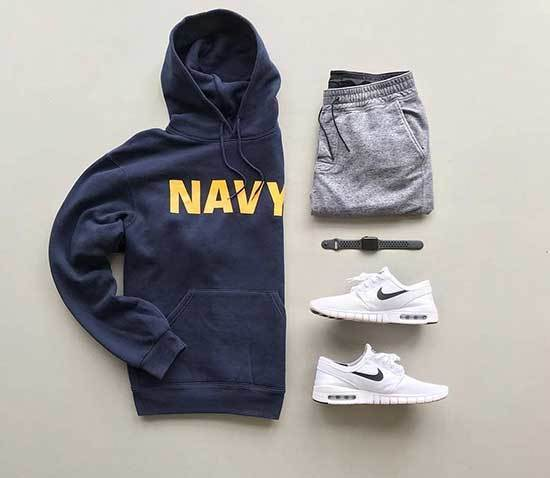 Swag Hoodie Outfits for Guys