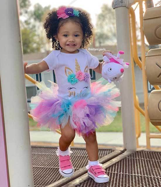 Unicorn First Birthday Outfits