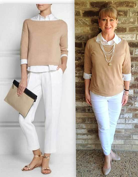 Older Women Outfits for Over 50
