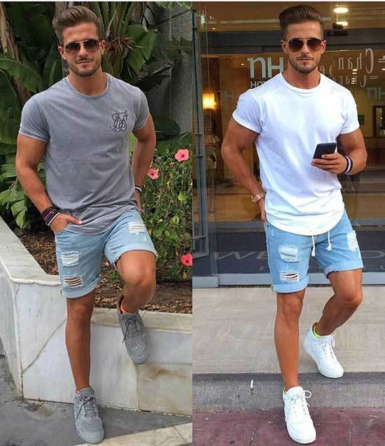 Denim Summer Outfits for Men
