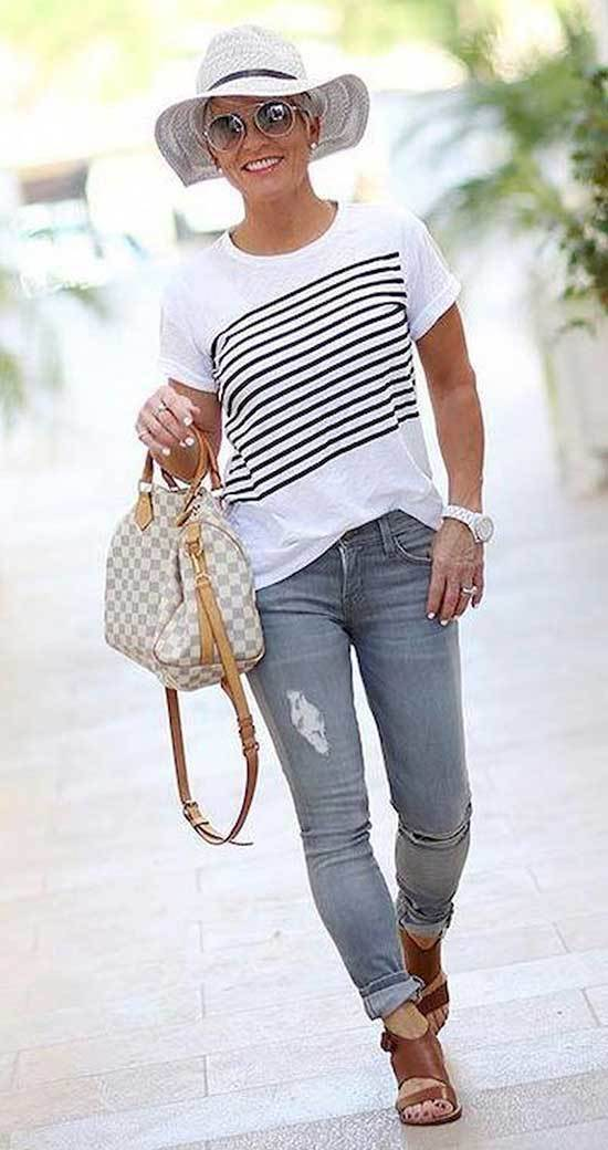 Chic Outfits for Over 50