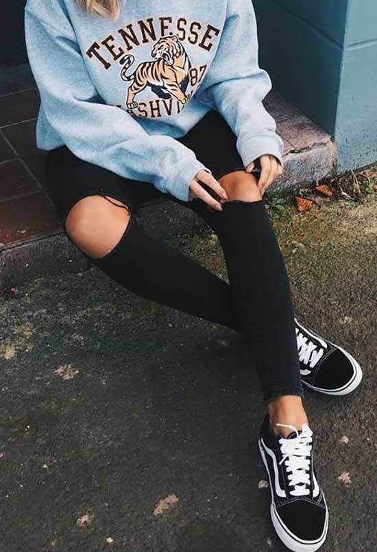 Cool Outfits with Sneakers