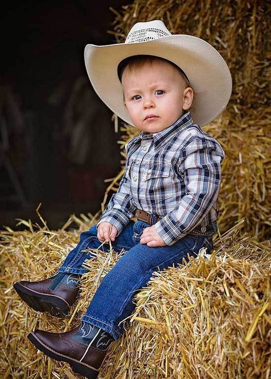 Cute Little Boy Country Outfits