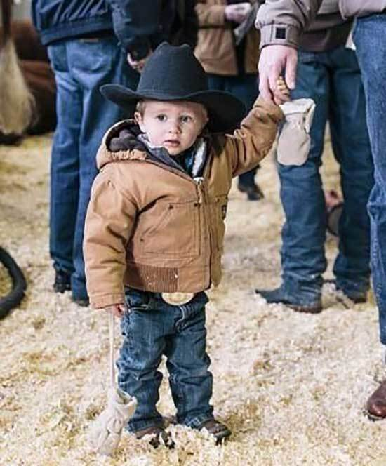 Dad and Little Boy Country Outfits-8