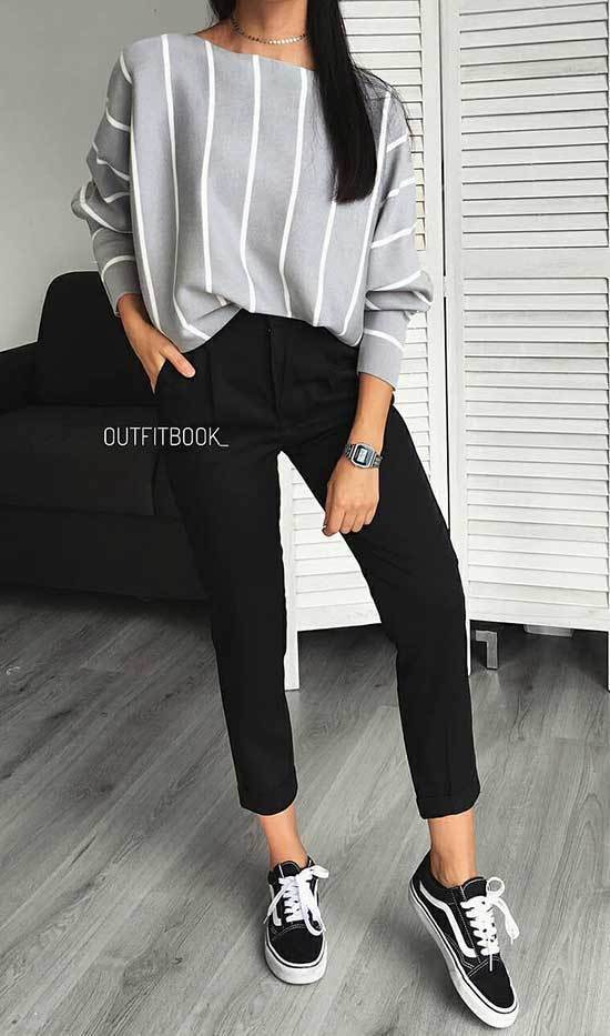 Formal Outfits with Sneakers