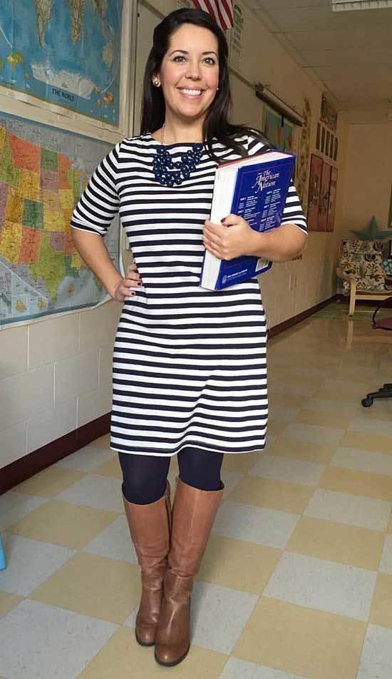 High School Teacher Outfits