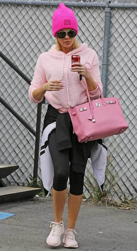 Khloe Kardashian Athleisure Outfits