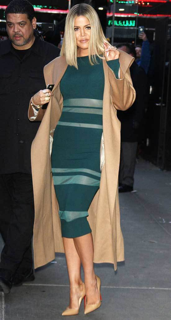 Khloe Kardashian Dress Outfits