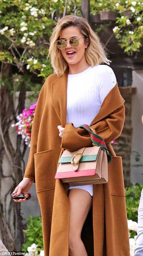 Khloe Kardashian Street Style Outfits
