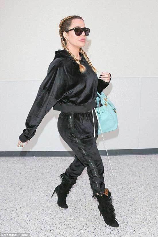 Cute Khloe Kardashian Outfits