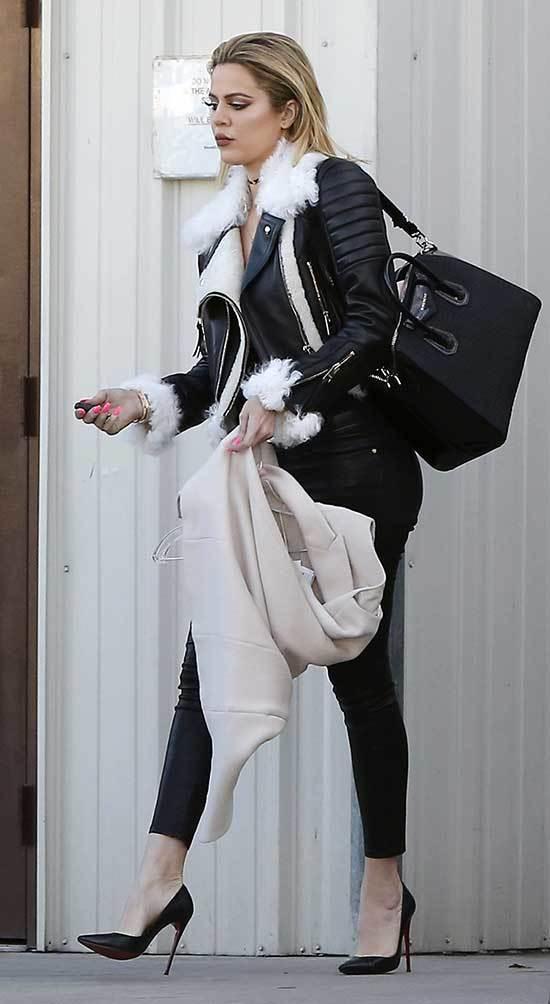 Khloe Kardashian Winter Outfits