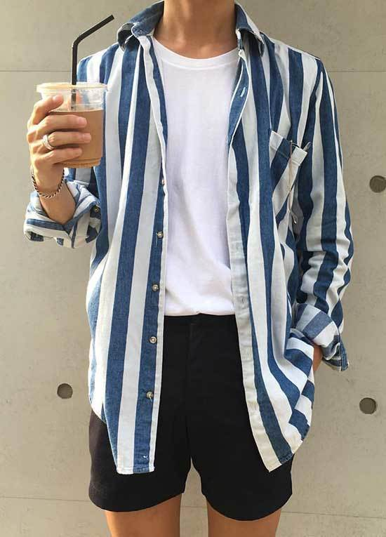 Korean Summer Outfits for Men