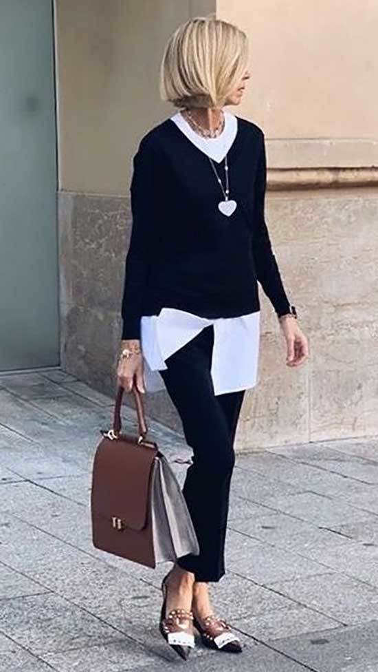 Minimalist Outfits for Over 50