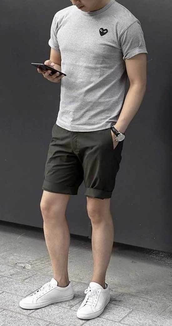 Summer Sneakers Outfits for Men